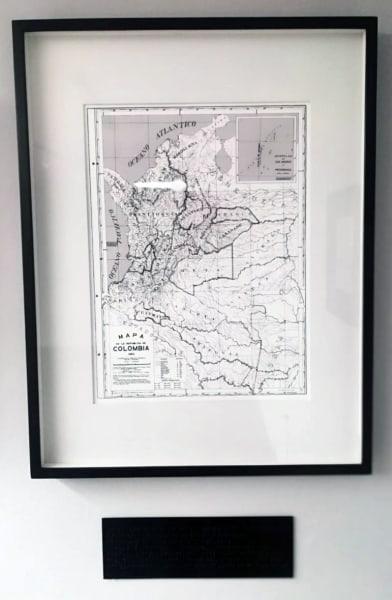 Repúblicas - Mapa de la República de Colombia 1950. Proof #1