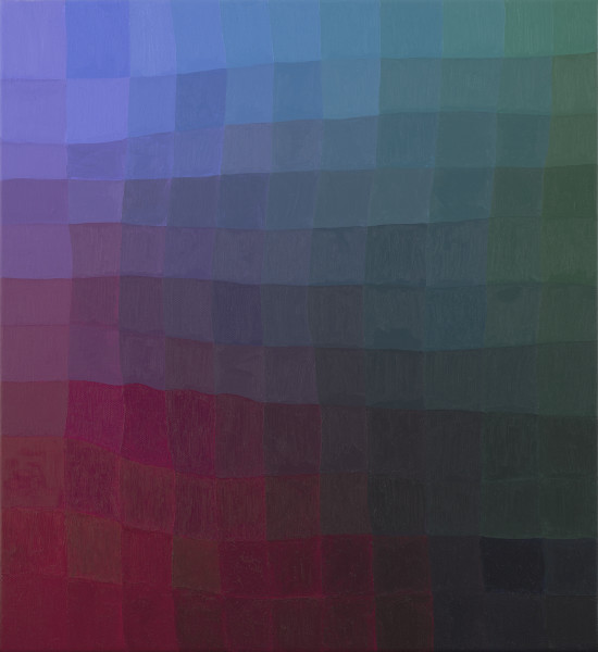 RGB Attention Machine (50% blue)