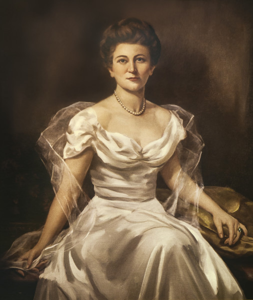 Portrait of Lettie Pate Whitehead Evans