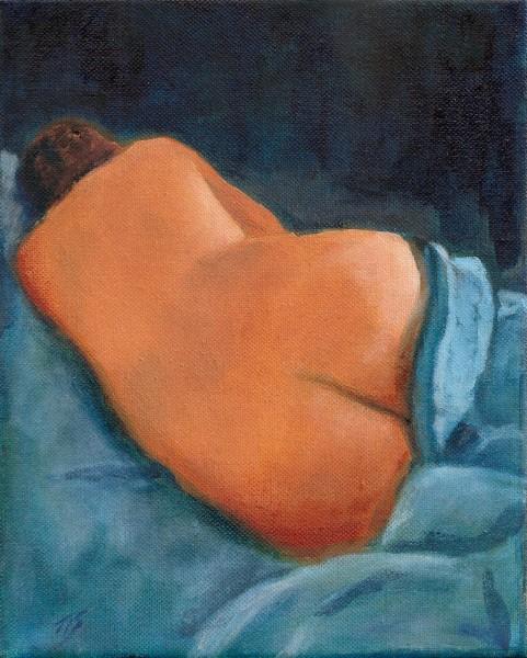 Sleeping Nude (Nude Indigo series)