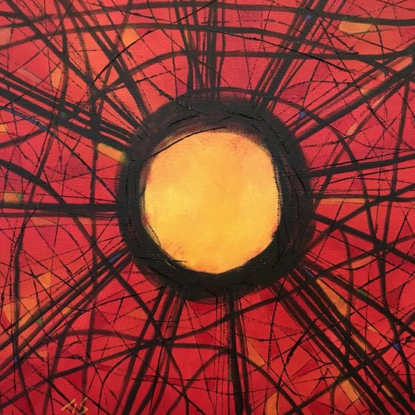 Stickwork Oculus (Scarlet)  36.072486N 79.101936W