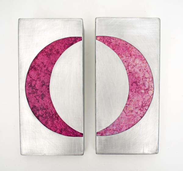 Pink Moon (diptych)