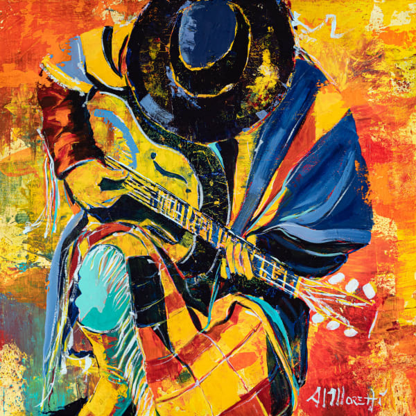 """The Guitarist""  Stevie Ray Vaughan"