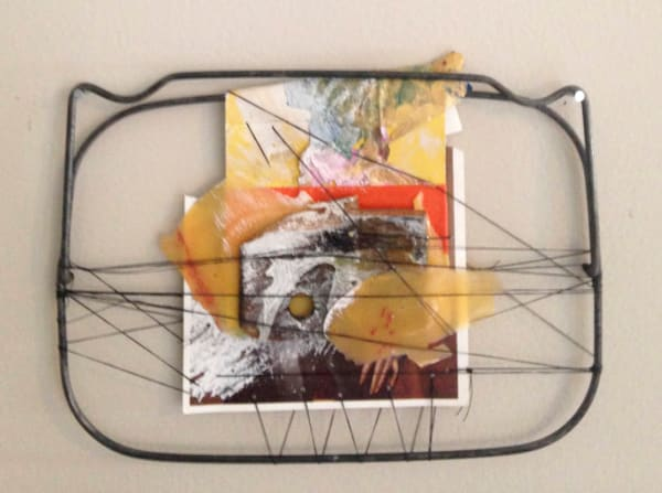 """""""Intuitive Trainings"""" wall sculpture"""