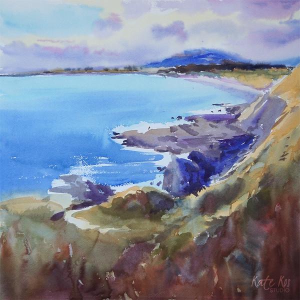 Purple and Gold I - Kilmichaels Sandhills