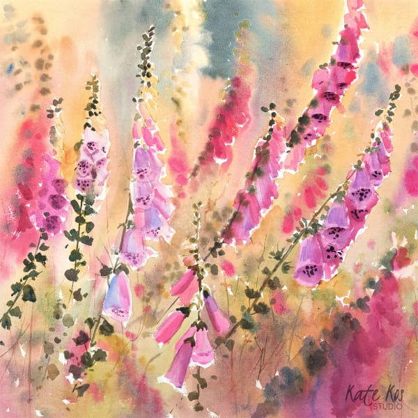 Sweet Foxgloves
