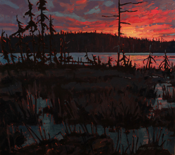 March Sunrise, Piper Lake, Nova Scotia