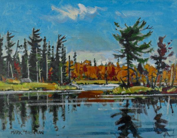 Bright October Morning, Tobeatic Wilderness, Nova Scotia