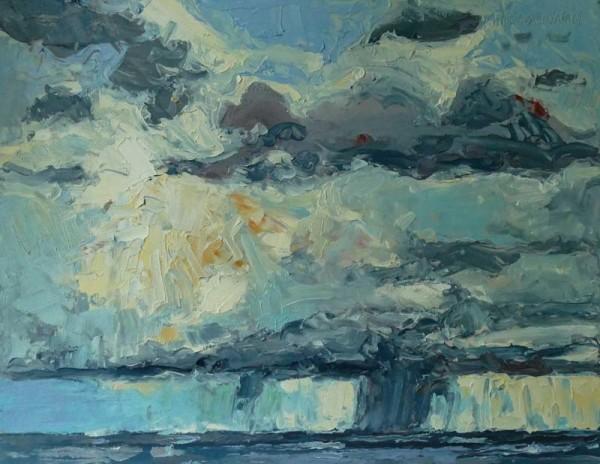 Cloud Burst,  Cap Rouge, Cape Breton Highlands, Nova Scotia