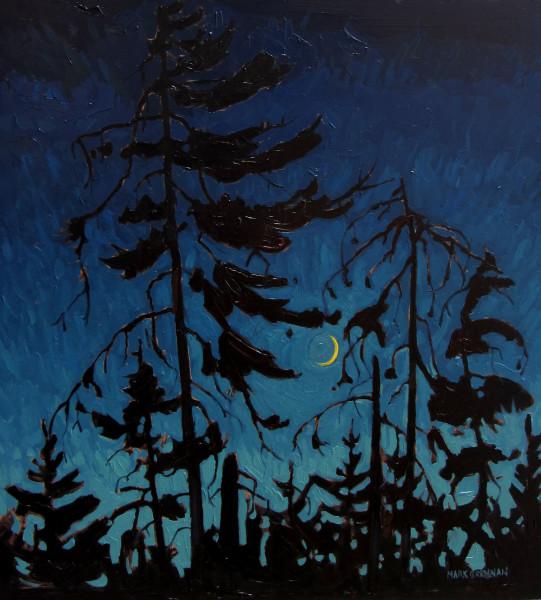 Crescent Moon, Liscomb, Nova Scotia