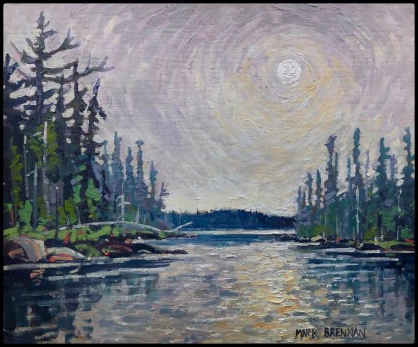 Lake Smoke, West Pogue Lake, Nova Scotia