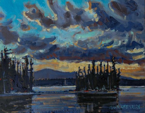 Blue Evening, Mount Carleton, Northern New Brunswick