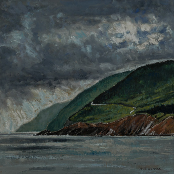 View Of French Mountain, Cape Breton Highlands, Nova Scotia