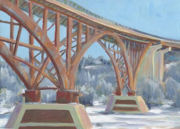 High Bridge in Winter