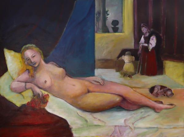 1345 Titan - Nude with servant