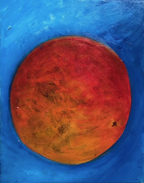 1258 Orange With Blue