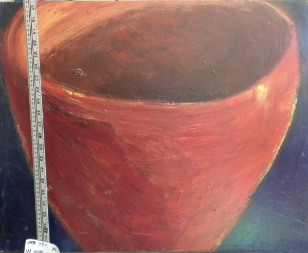 1154 Dark Red Wide Cup