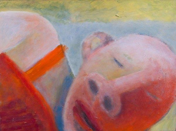1072 Head -  Triptych Head, Body, Legs Rest