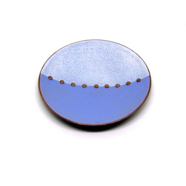 MCA133, Blue White Trinket Dish