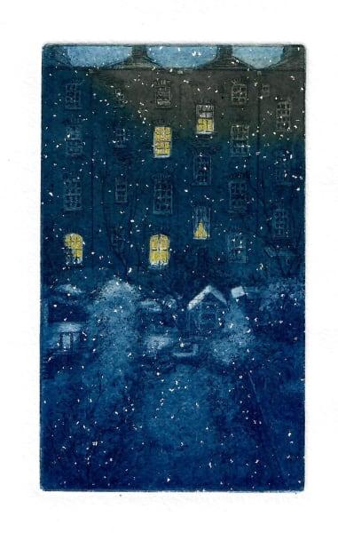 ENT114, Winter, lights still on