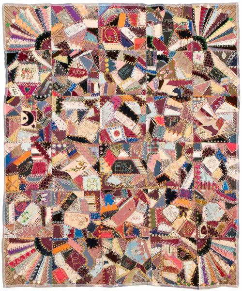Victorian Crazy Patch Quilt