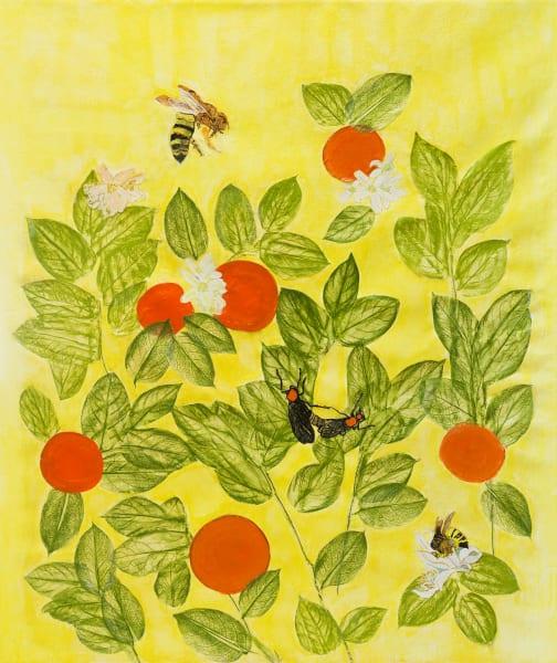Yellow Citrus with Orange