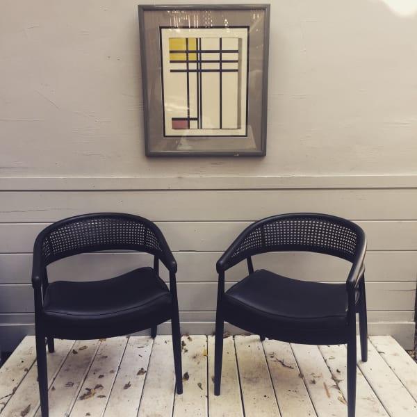 Framed Mondrian Print