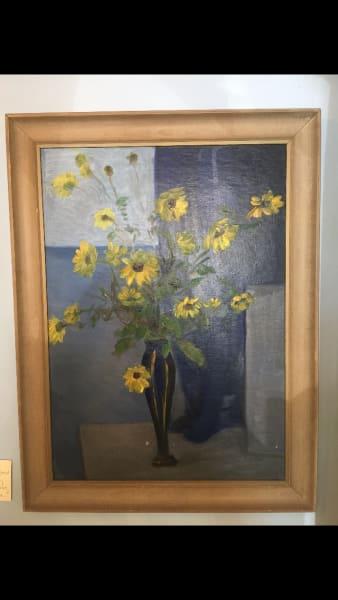 framed vintage signed Alice Hugy