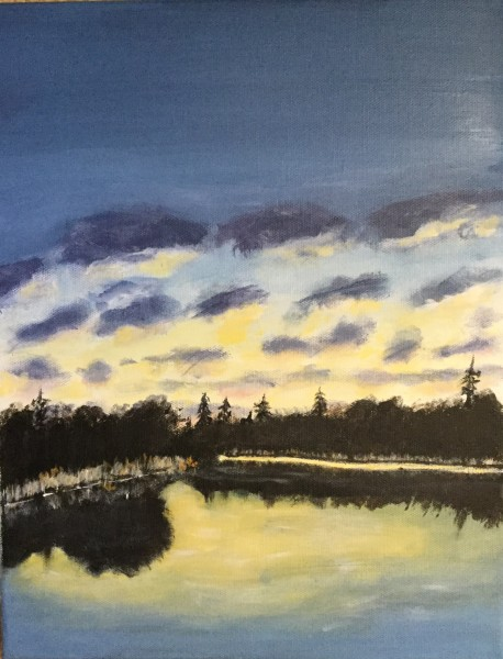 Sunset at Long Pond