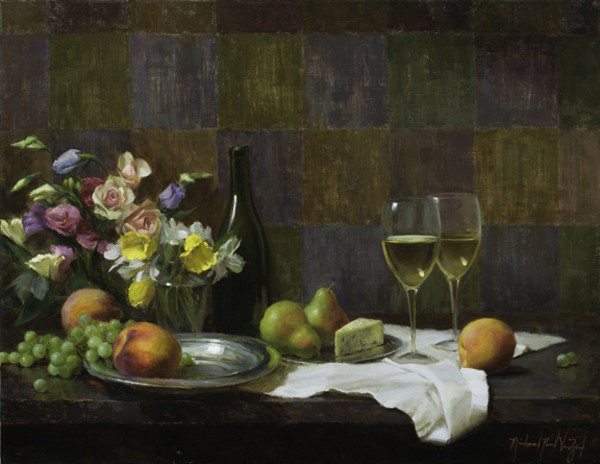 Composition with White Wine