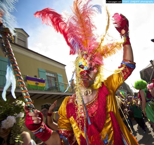 Feathers - St. Anthony Ramblers - Mardi Gras Day