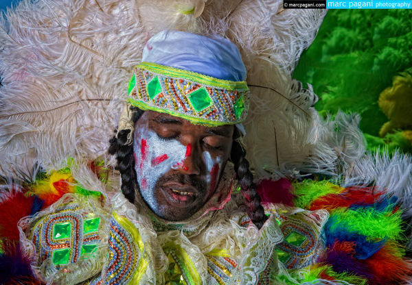 Mardi Gras Indian Study #2 - Super Sunday
