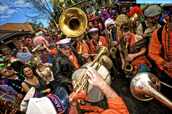 Sean Clark - Aurora Nealand & the Panorama Brass Band - Mardi Gras Day