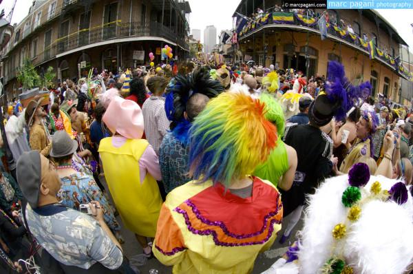 Society of St. Anne Parade - Royal Street - Mardi Gras Day