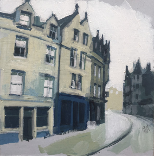 Cockburn Street, Edinburgh (study)