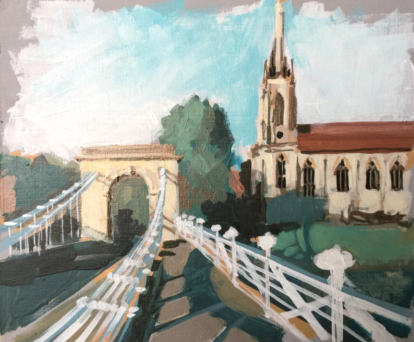 Marlow Bridge (study) III