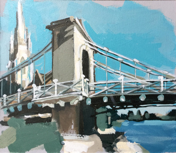 Marlow Bridge (study) II