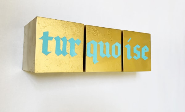 TURQUOISE TRIPTYCH