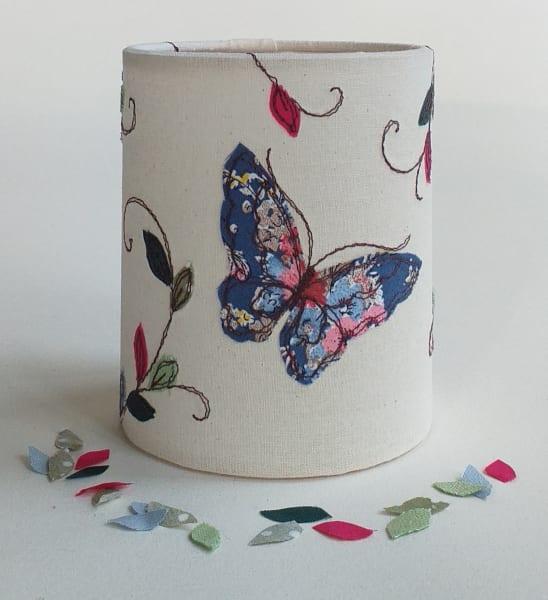 Lantern with Butterflies for battery tealight