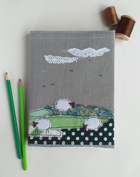 Hardback Notebook with a Sheep Removable Cover