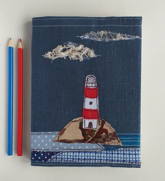 Hardback Notebook with a Lighthouse Removable Cover