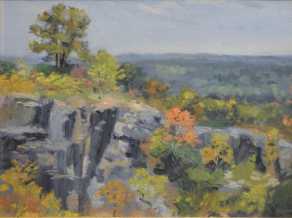 View from Ruffner Quarry, Birmingham, AL