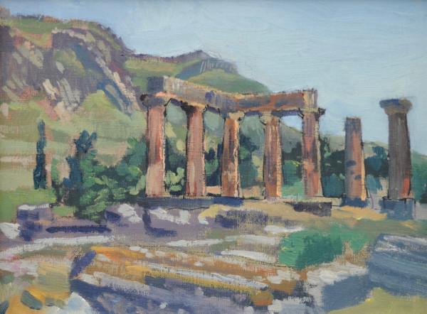 Temple of Apollo in Corinth,  Greece