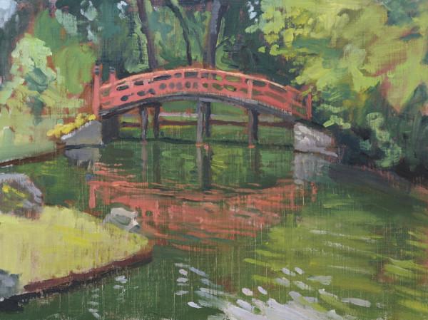 Red Bridge at Botanic Gardens