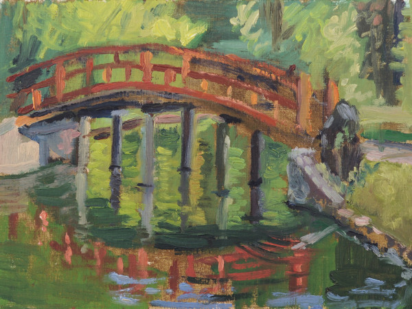 Red Bridge Poem