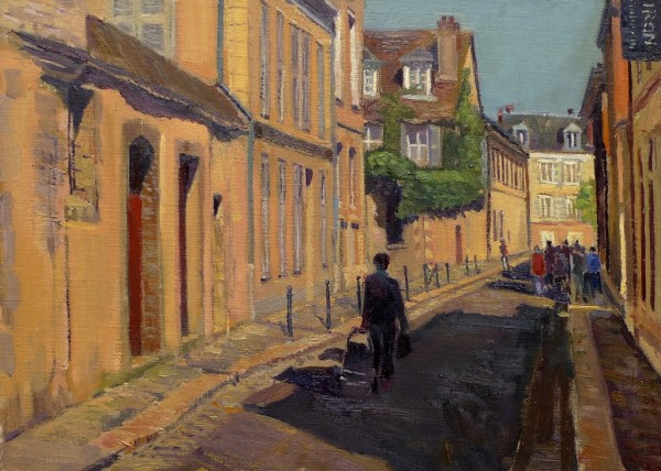 Going to Market, Chartres, France