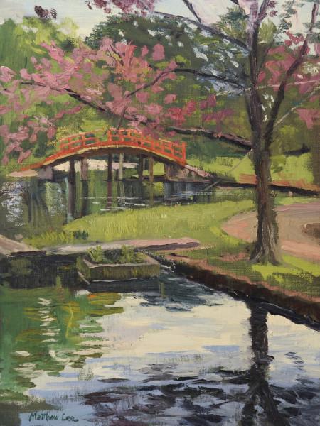 The Red Bridge Beyond- Memphis Botanic Garden