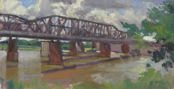 The Old Bridge on a Stormy Day, Memphis