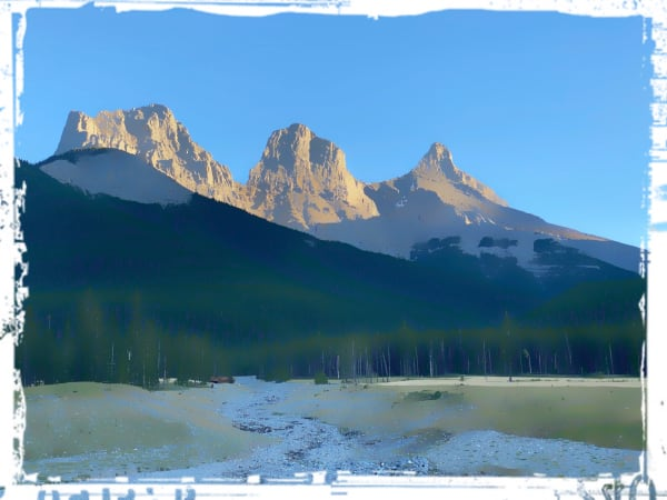 Bow Valley - The Sisters