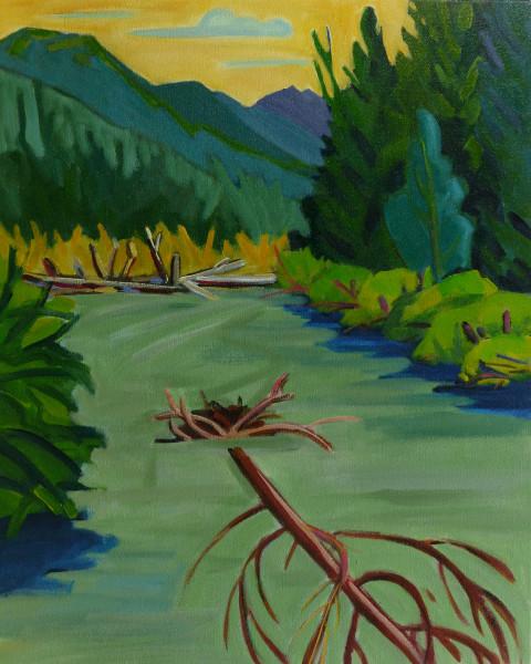 Asx'ee (Eagle River tree dam)